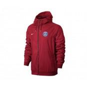 Coupe vent Nike Authentic Paris Saint-Germain Rouge