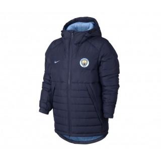 Doudoune 3/4 Nike Manchester City Bleu