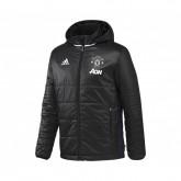 Doudoune à capuche adidas Manchester United Noir