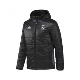 Doudoune à capuche adidas Real Madrid Noir