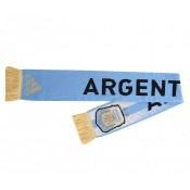 Echarpe avec ARGENTINA et écusson de l'AFA tissés sur les 2 faces Composition : 100% acrylique Personnalisation