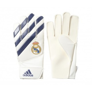 Gants Gardien adidas Lite Real Madrid Blanc