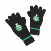 Gants Logo Fan AS Saint-Etienne Noir