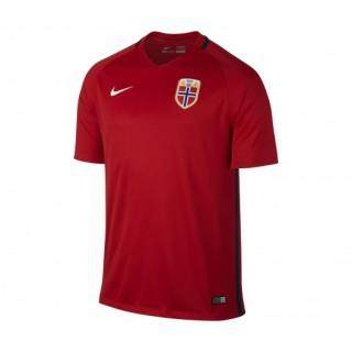 Le maillot de l'équipe de Norvège saison 2016/17 domicile en Rouge