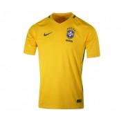 Le maillot du Brésil 2016/17 lors de leurs rencontres à domicile