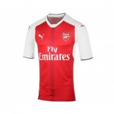 Maillot Authentic adidas Arsenal Domicile 2016/17 Rouge et Blanc