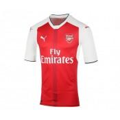 Maillot Authentic adidas Arsenal Domicile 2016/17 Rouge et Blanc