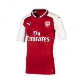 Maillot Authentique Puma Arsenal Domicile 2017/18 Rouge