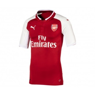 Maillot Authentique Puma Arsenal Domicile 2017/18 Rouge