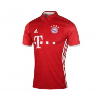 Maillot Authentique adidas Bayern Munich Domicile 2016/17 Rouge