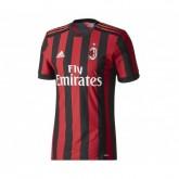 Maillot Authentique adidas Milan AC Domicile 2017/18 Rouge