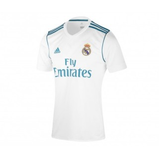 Maillot Authentique adidas Real Madrid Domicile 2017/18 Blanc