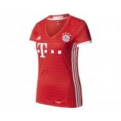 Maillot Bayern Munich Domicile 2016/17 Rouge Femme