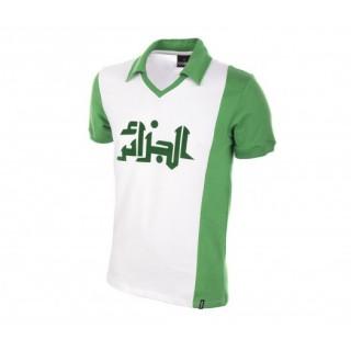 Maillot COPA Rétro Algérie 1982 Blanc et Vert