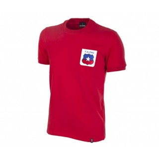 Maillot COPA Rétro Chili 1974 rouge