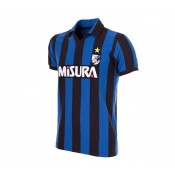 Maillot Copa Rétro Inter Milan 1986/87 Bleu et Noir