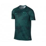 Maillot Entraînement Nike FC Barcelone Dry Squad Vert et Noir