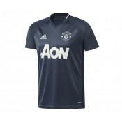 Maillot Entraînement adidas Manchester United Bleu