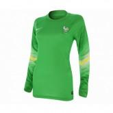 Maillot Gardien Match Pro France FFF Femme Vert