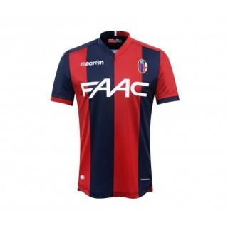 Maillot Macron Bologne FC Domicile 2016/17 Rouge et Bleu
