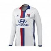 Maillot Manches Longues Olympique Lyonnais Domicile 2016/17 Blanc