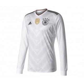Maillot Manches Longues adidas Allemagne Domicile 2017/18 Blanc