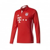 Maillot Manches Longues adidas Bayern Munich Domicile 2016/17 Rouge