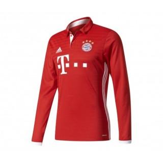 Maillot Manches Longues adidas Bayern Munich Domicile 2016/17 Rouge