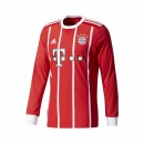 Maillot Manches Longues adidas Bayern Munich Domicile 2017/18 Rouge