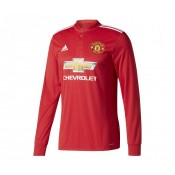 Maillot Manches Longues adidas Manchester United Domicile 2017/18 Rouge