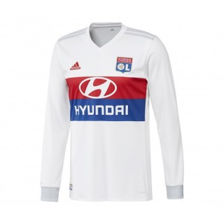 Maillot Manches Longues adidas Olympique Lyonnais Domicile 2017/18 Blanc