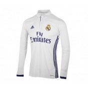 Maillot Manches Longues adidas Real Madrid Domicile 2016/17 Blanc