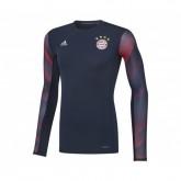 Maillot Manches Longues adidas Techfit Bayern Munich Bleu
