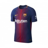 Maillot Match Nike FC Barcelone Domicile 2017/18 Bleu