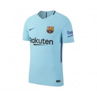 Maillot Match Nike FC Barcelone Extérieur 2017/18 Bleu