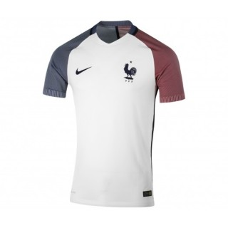 Maillot Match Nike France FFF Extérieur 2016/17 Blanc