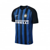 Maillot Match Nike Inter Milan Domicile 2017/18 Bleu et Noir