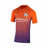 Maillot Match Nike Manchester City Third 2016/17 Orange et Violet