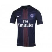 Maillot Match Nike Paris Saint-Germain Domicile 2016/17 Bleu