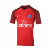 Maillot Match Nike Paris Saint-Germain Extérieur 2016/17 Rouge