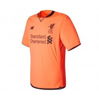 Maillot New Balance Liverpool Third 2017/18 Orange