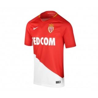 Maillot Nike AS Monaco Domicile 2017/18 Rouge et Blanc