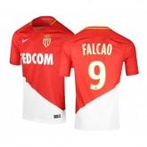 Maillot Nike AS Monaco Domicile Falcao 2017/18 Rouge et Blanc