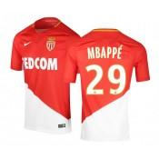 Maillot Nike AS Monaco Domicile M Bappé 2017/18 Rouge et Blanc