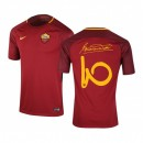 Maillot Nike AS Roma Domicile Totti 2017/18 Rouge Enfant