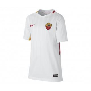 Maillot Nike AS Roma Extérieur 2017/18 Blanc Enfant