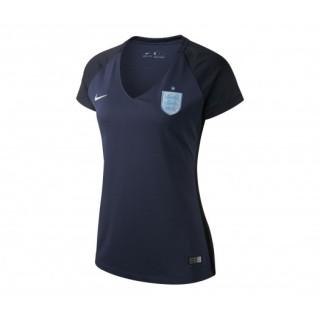 Maillot Nike Angleterre Extérieur 2017 Bleu Femme