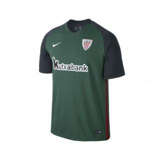 Maillot Nike Athletic Bilbao Extérieur 2016/17 Vert et Noir