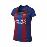 Maillot Nike FC Barcelone Domicile 2016/17 Bleu et Rouge Femme