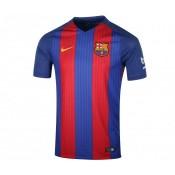 Maillot Nike FC Barcelone Domicile 2016/17 Sans Sponsor Bleu et Rouge